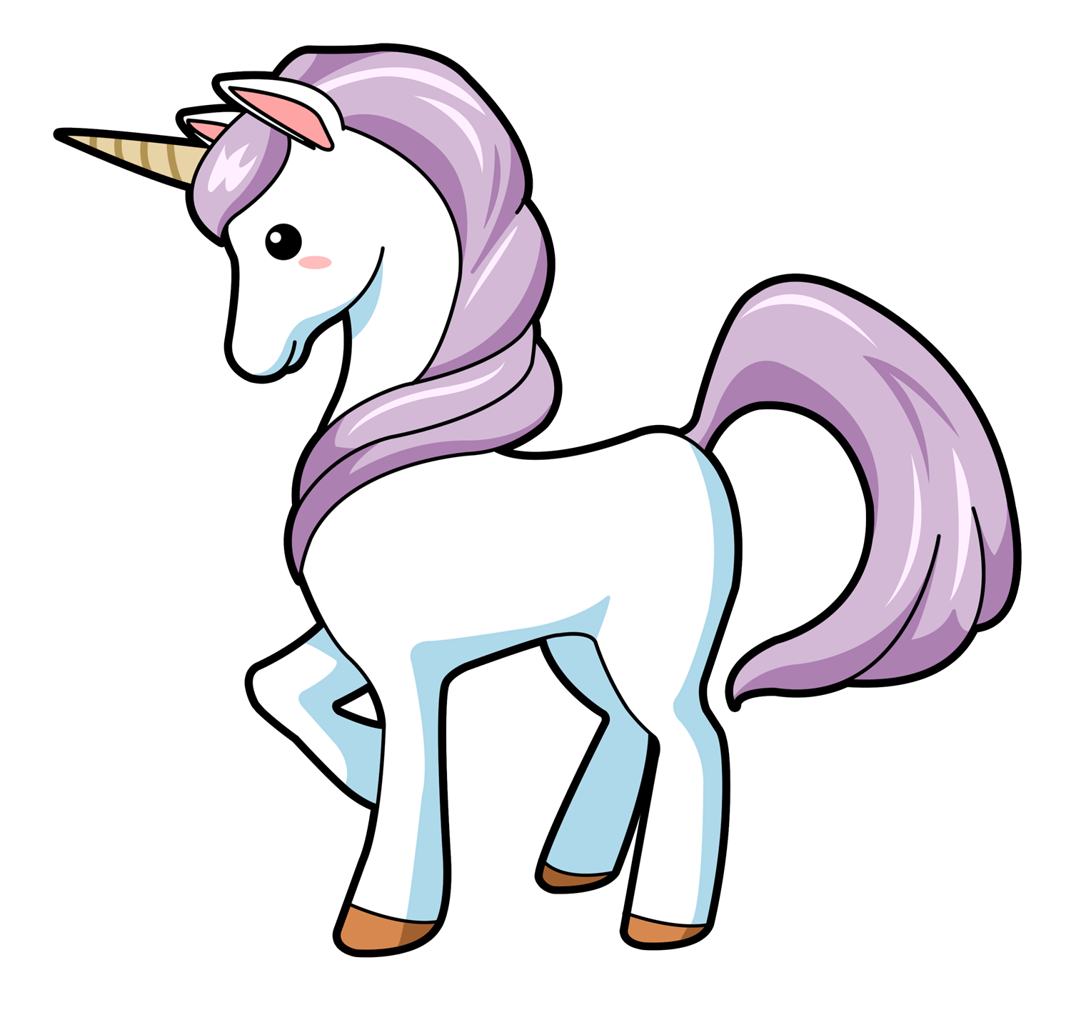 Unicorn clipart #18, Download drawings