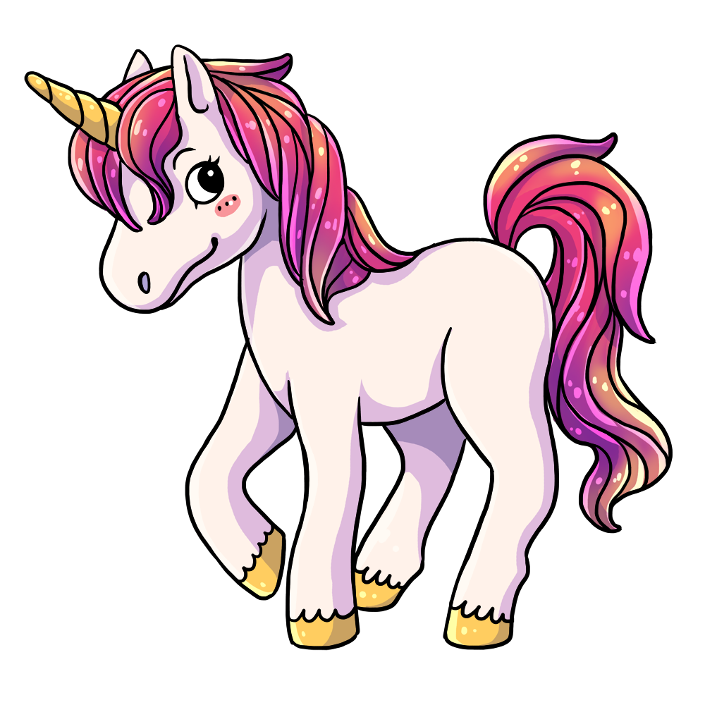 Unicorn clipart #16, Download drawings