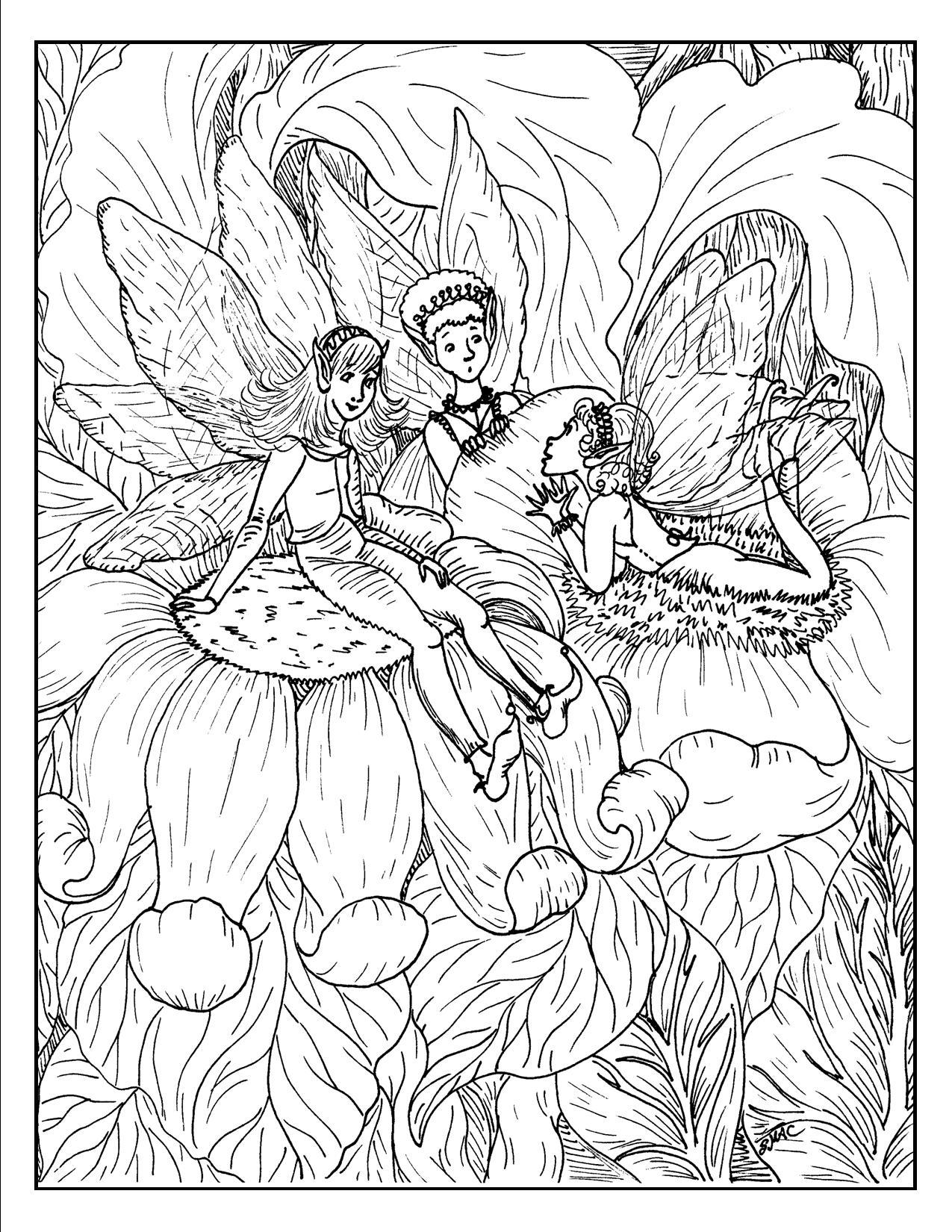 Fantasy coloring #7, Download drawings