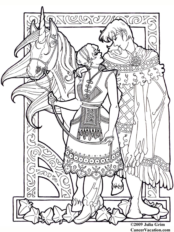 Fantasy coloring #6, Download drawings