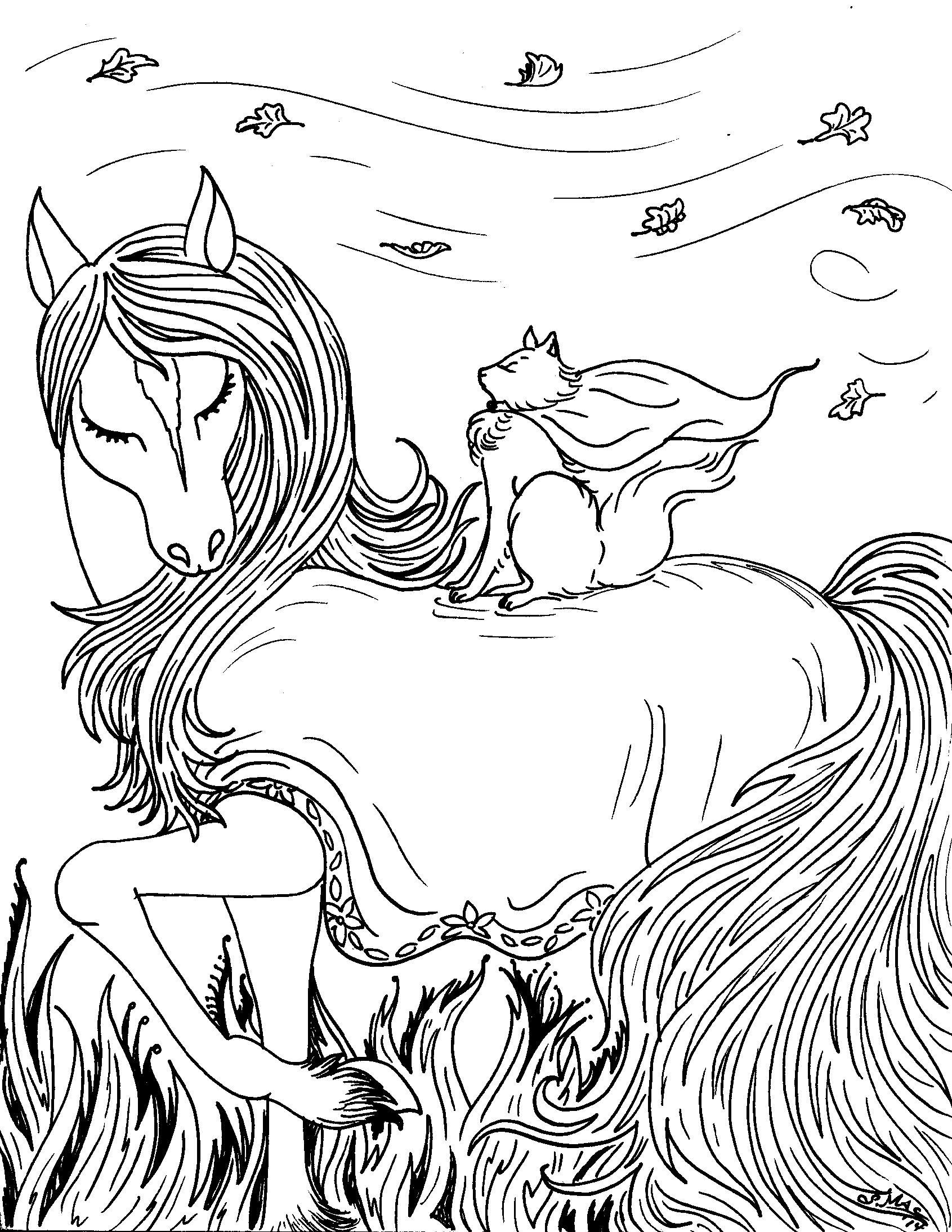 Fantasy coloring #9, Download drawings