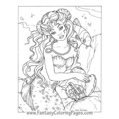 Fantasy coloring #12, Download drawings