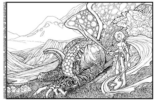 Fantasy coloring #3, Download drawings