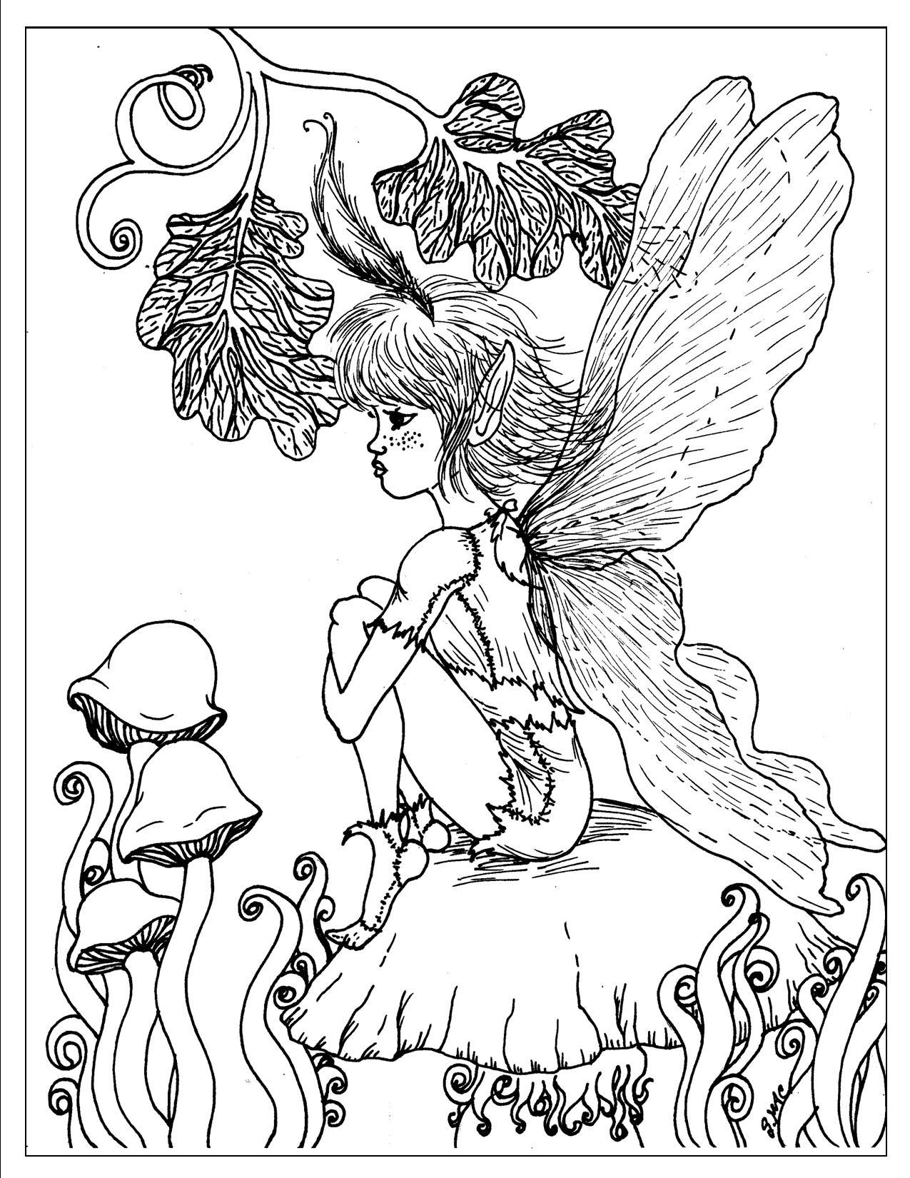 Fantasy coloring #8, Download drawings