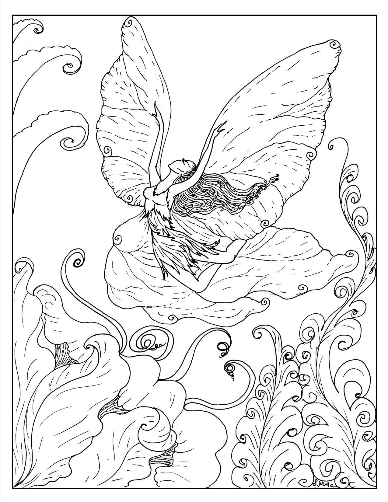 Fantasy coloring #17, Download drawings
