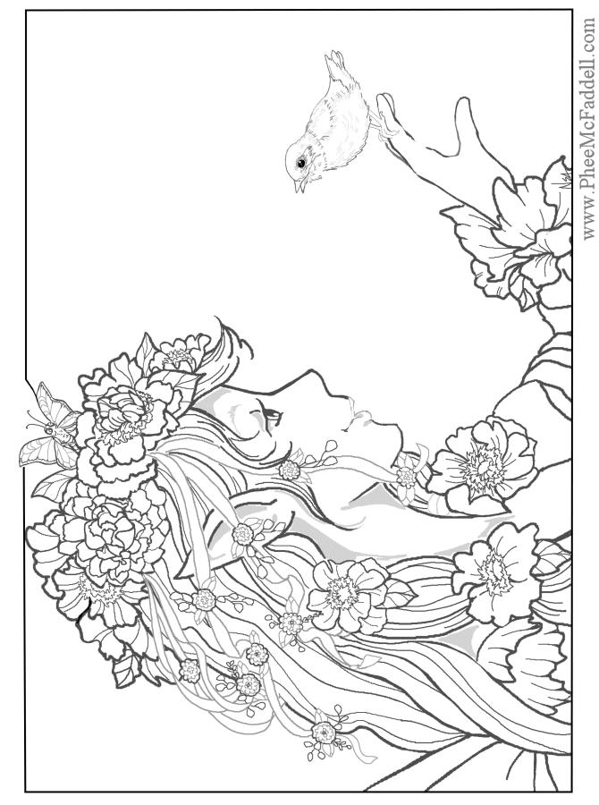 Fantasy coloring #16, Download drawings