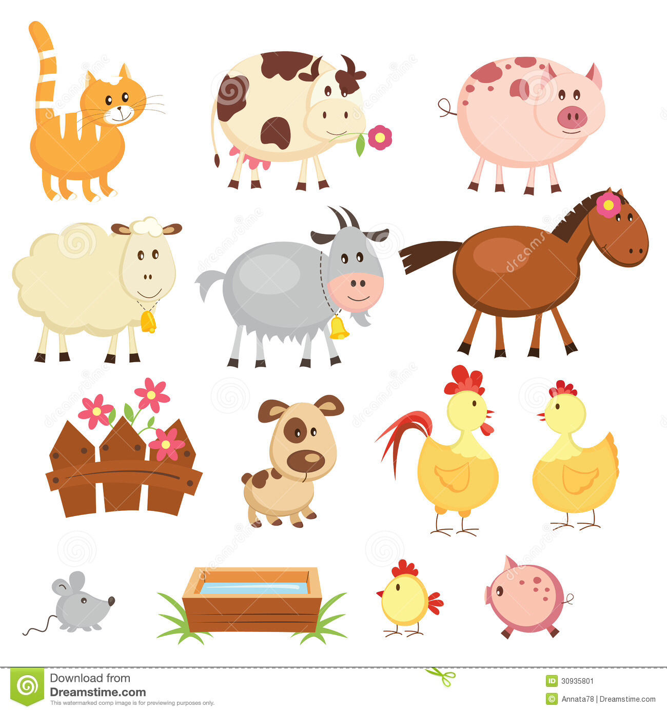 Farm Animals clipart #1, Download drawings