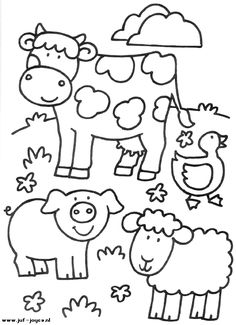 Farm Animals coloring #16, Download drawings