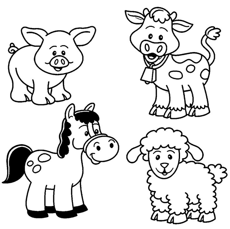 Farm Animals coloring #19, Download drawings