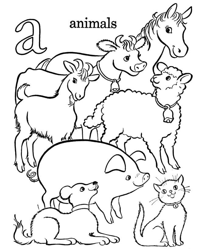 Farm Animals coloring #18, Download drawings