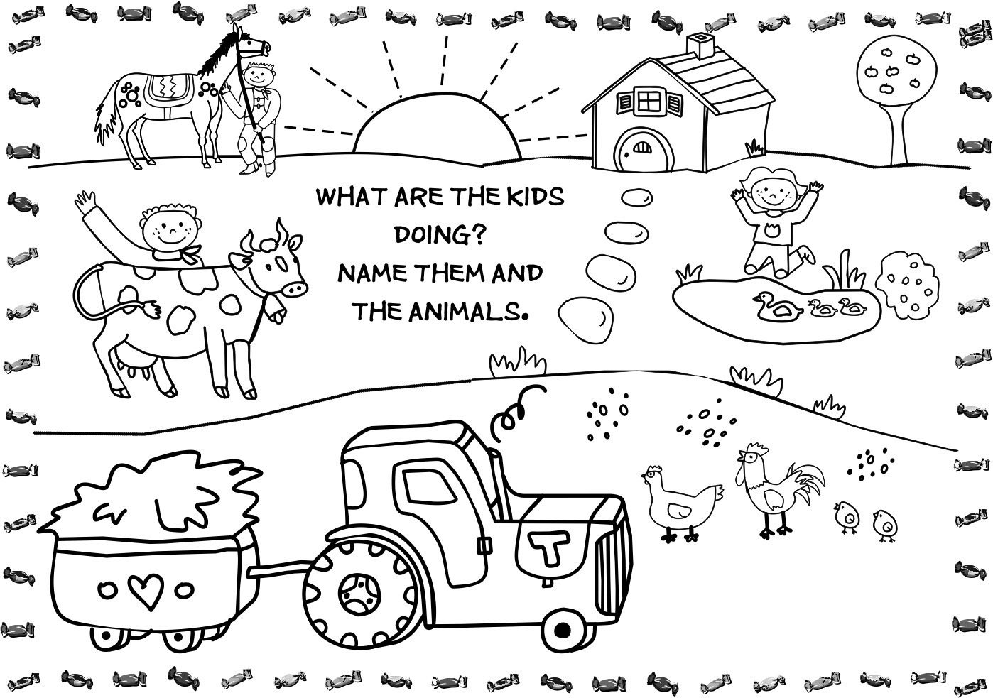 Farm Animals coloring #13, Download drawings