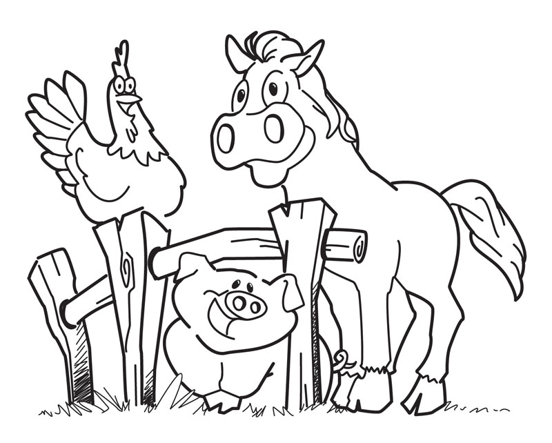 Farm Animals coloring #17, Download drawings