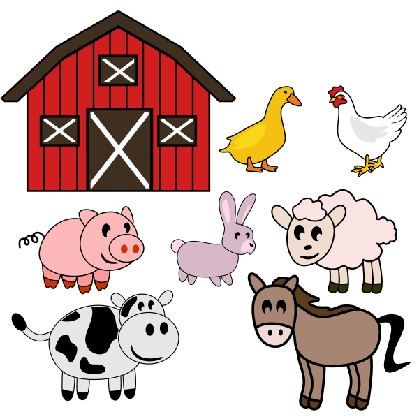 Farm Animals svg #6, Download drawings