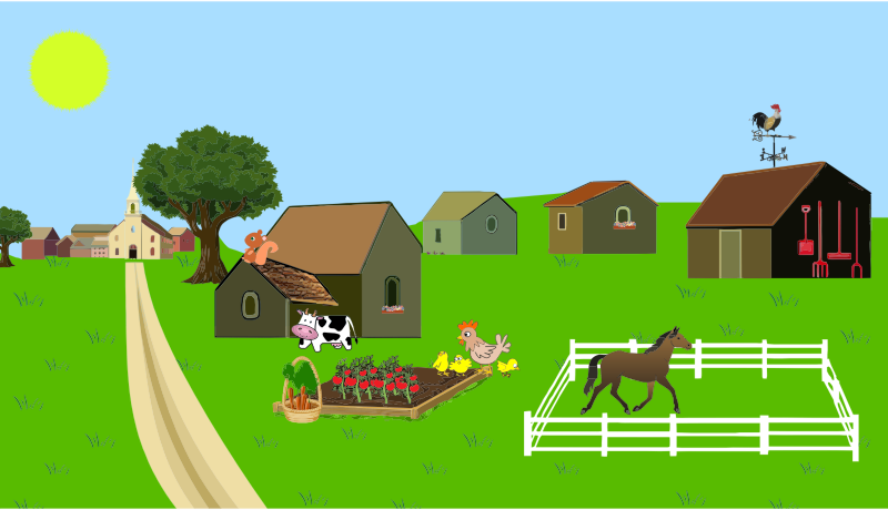Farm clipart #11, Download drawings