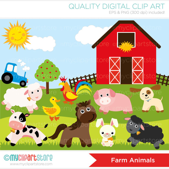 Farm clipart #1, Download drawings