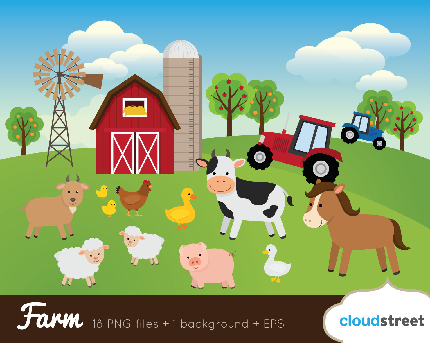Farm clipart #17, Download drawings