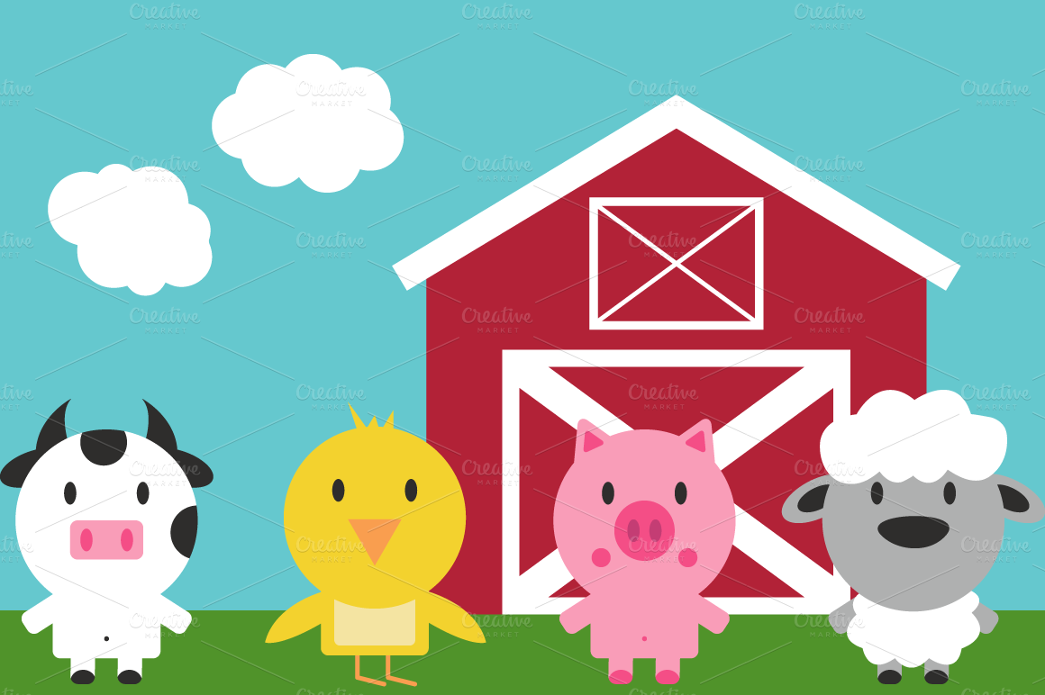 Farm clipart #2, Download drawings