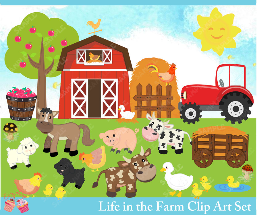 Farm clipart #13, Download drawings