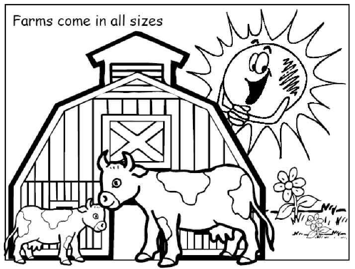 Farms coloring #17, Download drawings