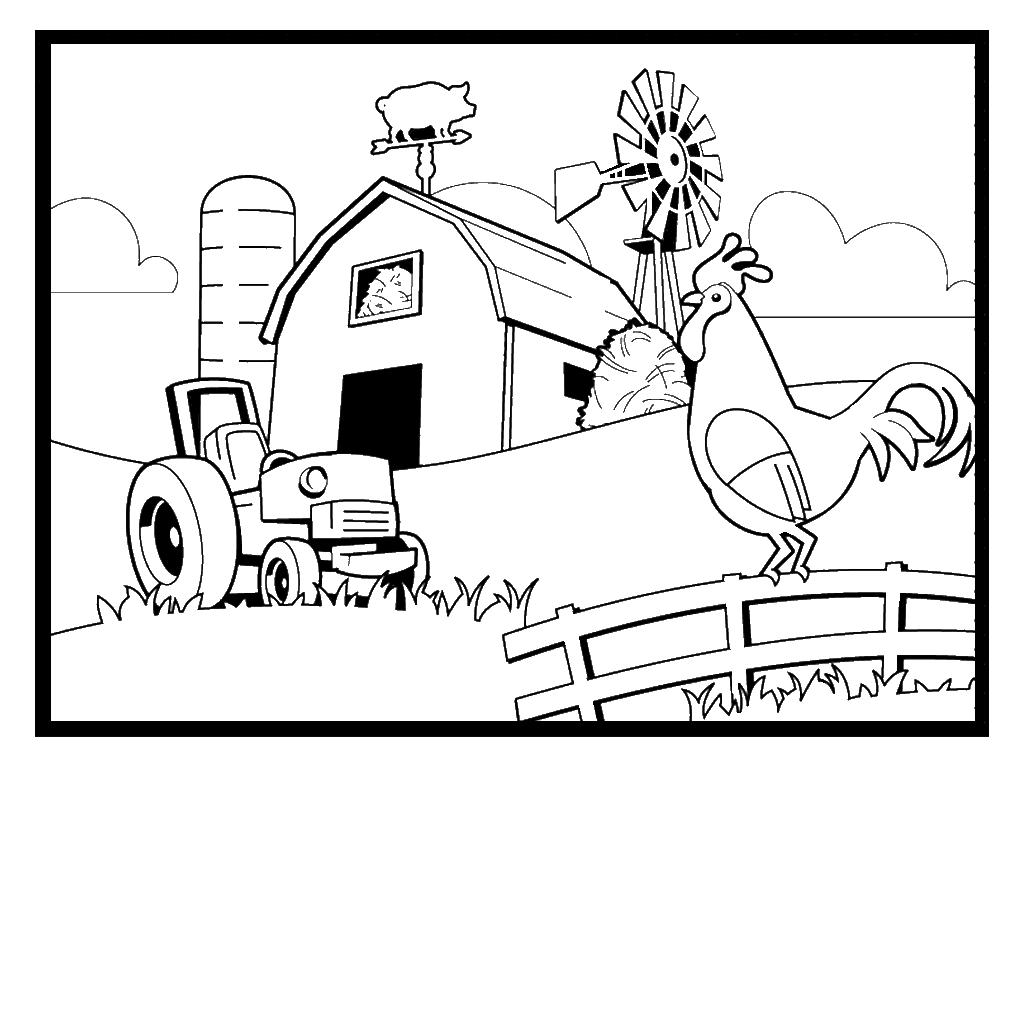 Farms coloring #20, Download drawings