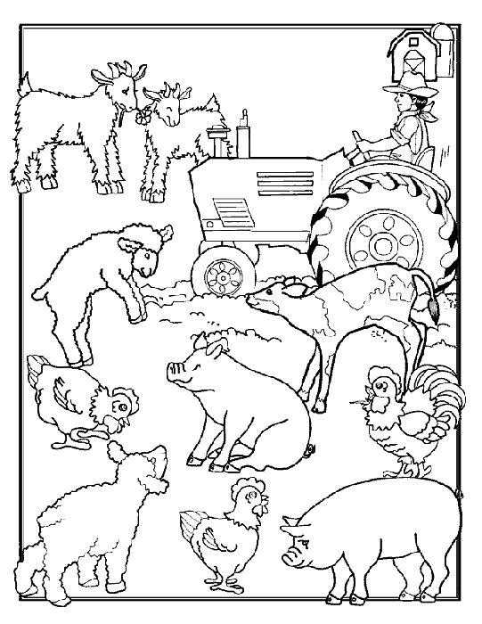 Farms coloring #16, Download drawings