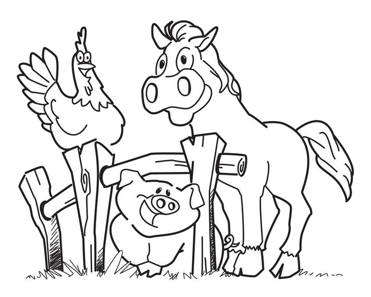 Farms coloring #6, Download drawings