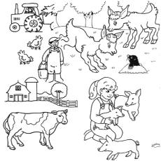 Farms coloring #11, Download drawings