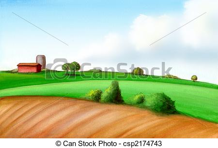 Farmland clipart #2, Download drawings