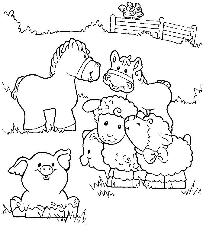 Farms coloring #2, Download drawings