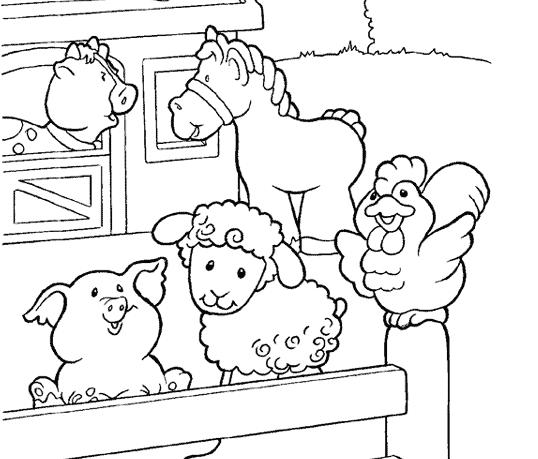 Farms coloring #15, Download drawings
