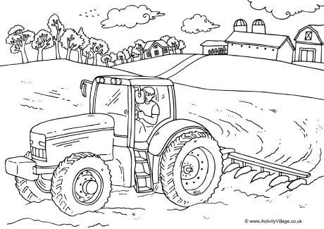 Farms coloring #14, Download drawings
