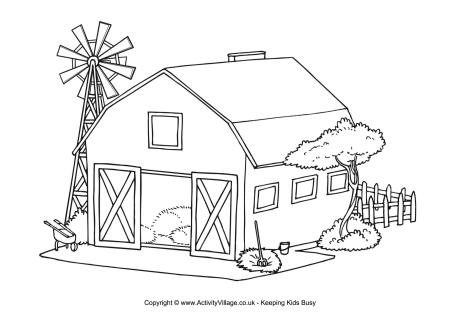 Farms coloring #12, Download drawings