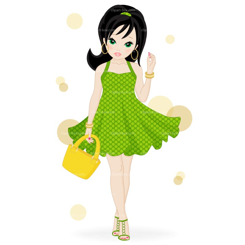 Fashion clipart #1, Download drawings