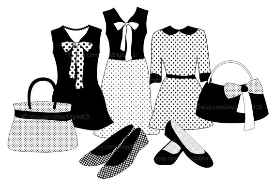 Fashion clipart #4, Download drawings
