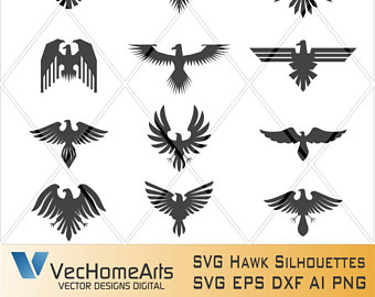 Faucon svg #4, Download drawings
