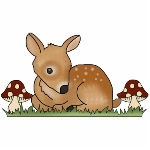 Fawn clipart #1, Download drawings