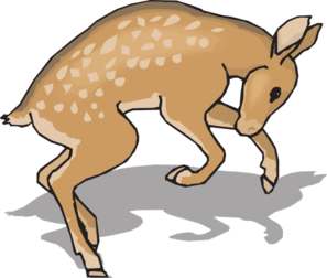 Fawn clipart #10, Download drawings