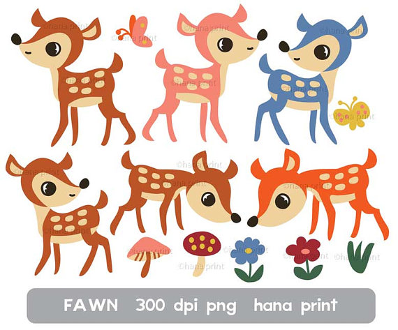 Fawn clipart #14, Download drawings