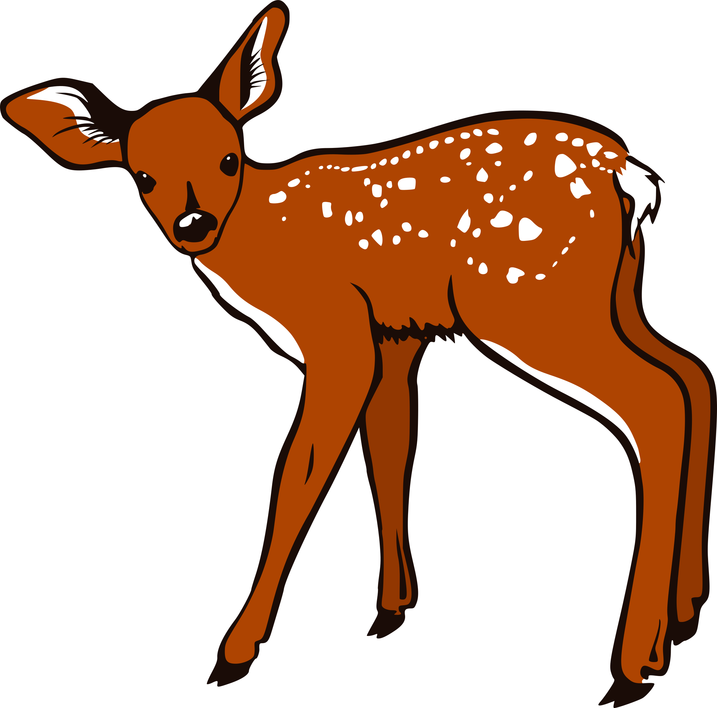 Fawn clipart #4, Download drawings