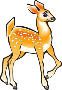 Fawn clipart #7, Download drawings