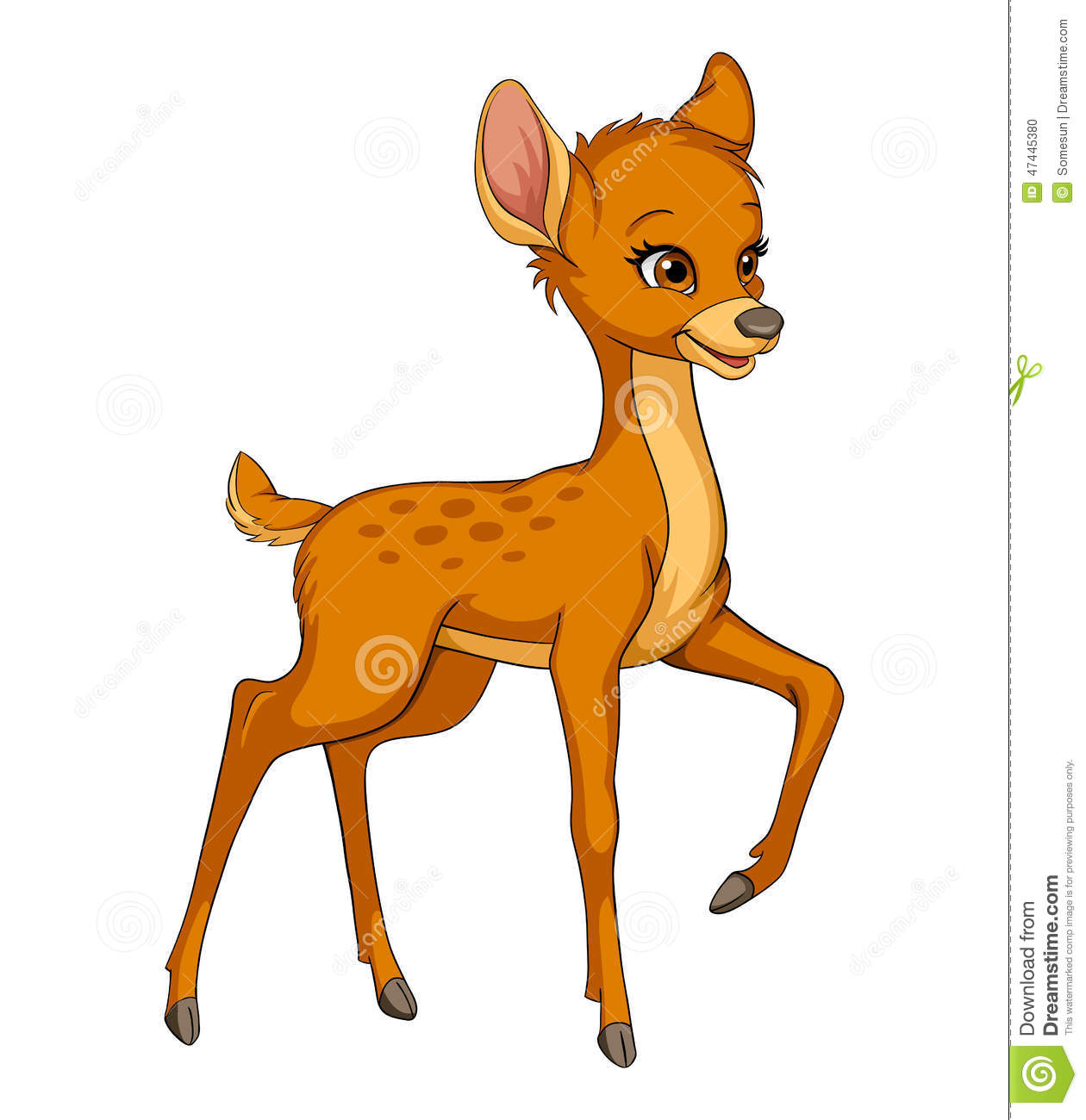 Fawn clipart #16, Download drawings