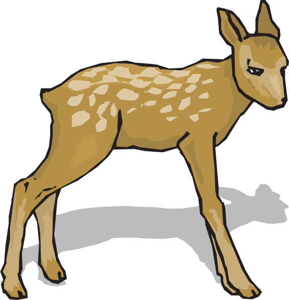 Fawn clipart #15, Download drawings