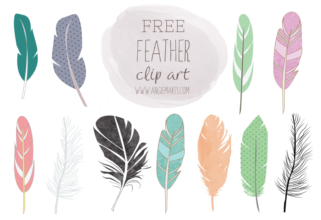 Feather clipart #6, Download drawings