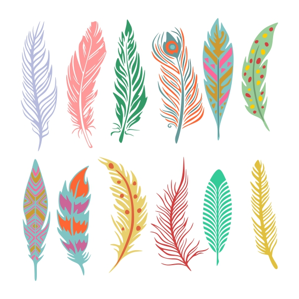 Feather svg #544, Download drawings