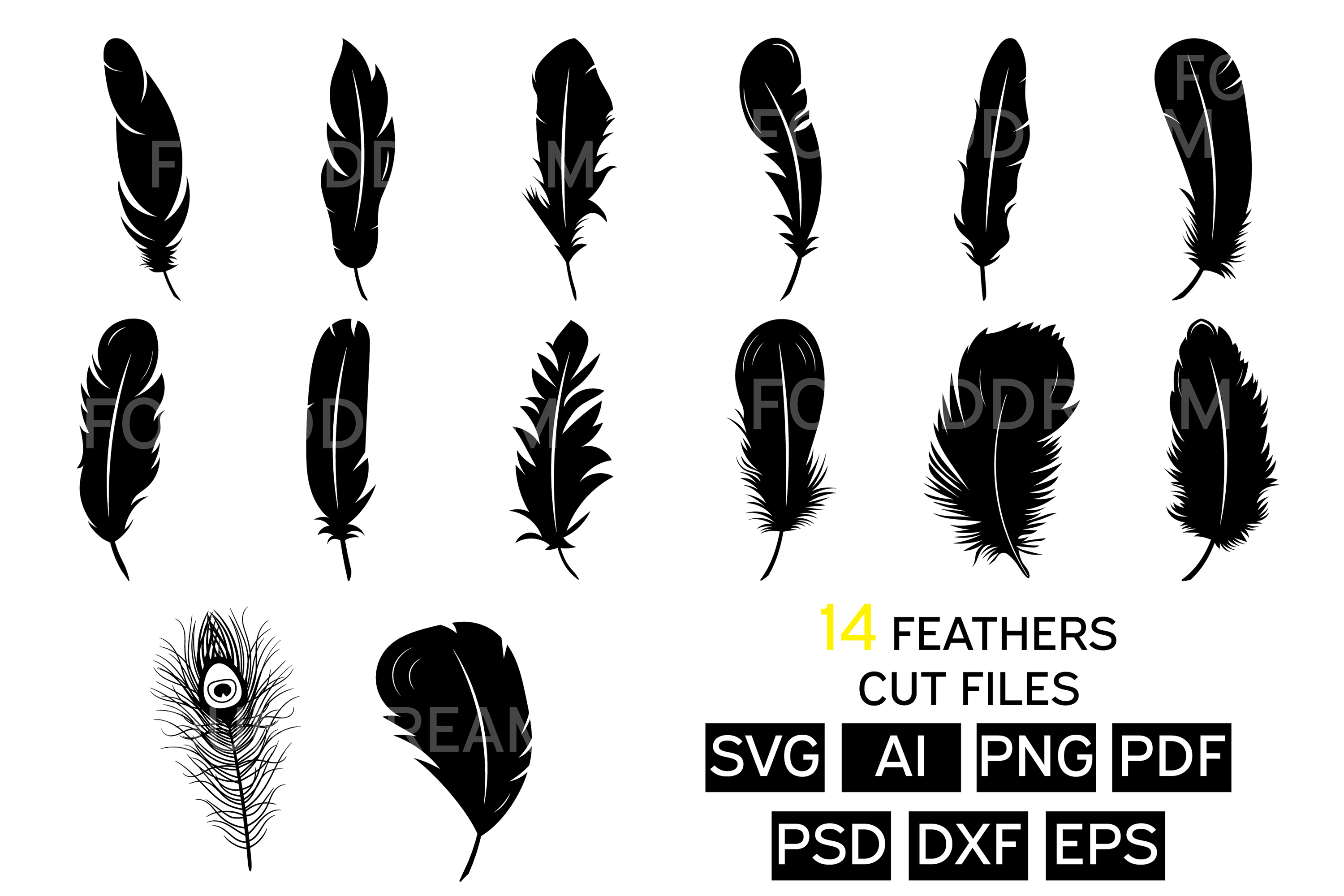 feather svg free #746, Download drawings