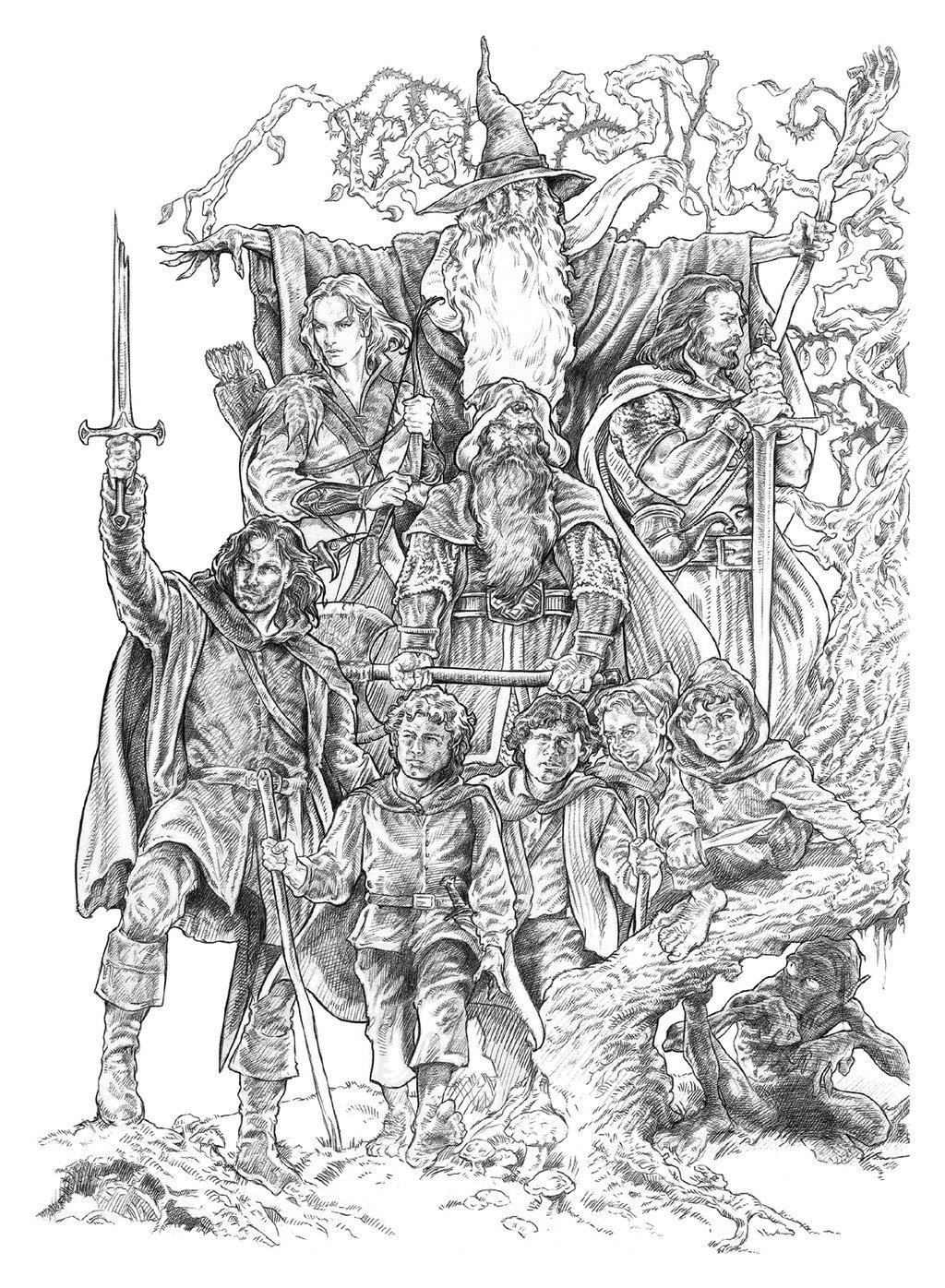 Fellowship coloring #9, Download drawings