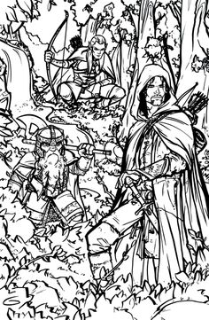Fellowship coloring #1, Download drawings