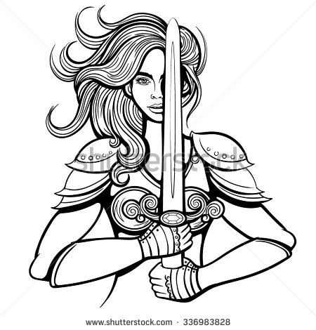 Woman Warrior clipart #14, Download drawings