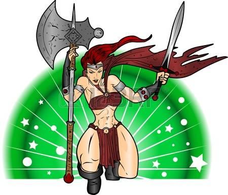 Women Warrior clipart #16, Download drawings