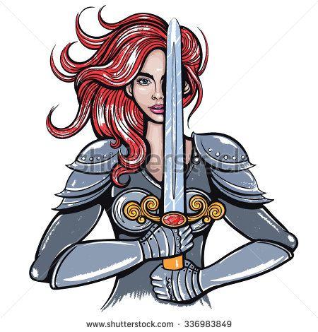 Women Warrior clipart #6, Download drawings
